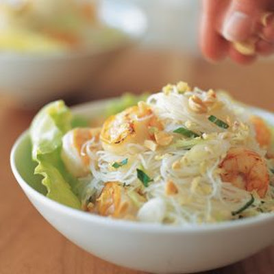 Vietnamese Shrimp and Noodle Salad