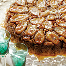 Bananas Foster Upside-Down Cake