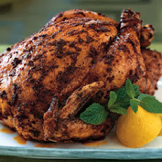 Roasted Organic Chicken with Moroccan Spices