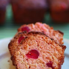 Maraschino Cherry Quick Bread