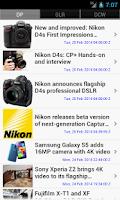 Screenshot of Digital Camera News