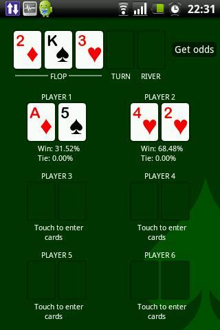 Easy Poker Odds
