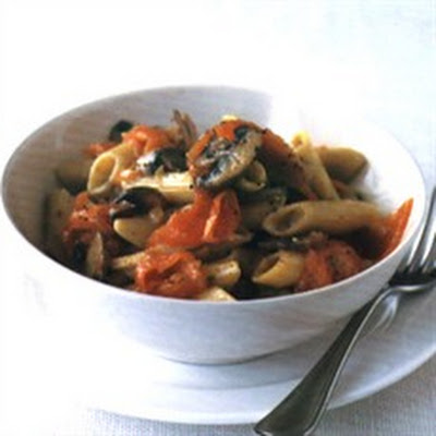 Highland Pasta with Smoked Salmon
