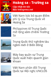 Tin tuc bien dong - screenshot