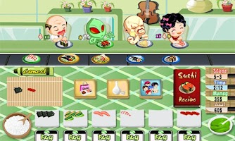 Screenshot of Sushi Rush Free