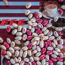 Beans and Coffee by Štefan Brajković - Food & Drink Plated Food ( beans, coffee, croatia, bjelovar-bilogora county, bjelovar )