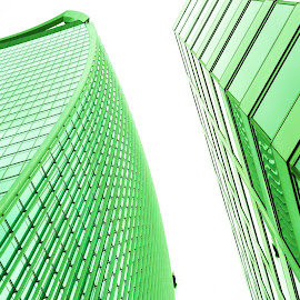 Going Green by Emma Cloherty-Lane - Buildings & Architecture Office Buildings & Hotels ( office, building, london, block, city )