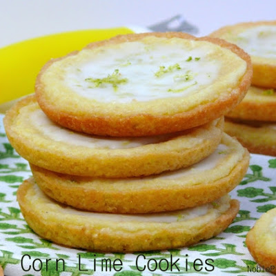 Corn Lime Cookie