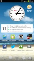 Screenshot of NextFour Agenda Widget Pro