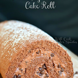 Chocolate Cake Roll With Cream Cheese Filling Recipes