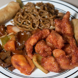 Takeout by Curley Reed - Food & Drink Plated Food ( dinner, restaurant, chinese, takeout, meal )