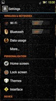 Screenshot of Racing CM11/CM10 theme free