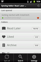 Screenshot of InstaFetch PRO