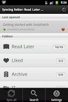 Screenshot of InstaFetch PRO
