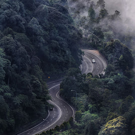 The Way by JO Leong - Landscapes Mountains & Hills