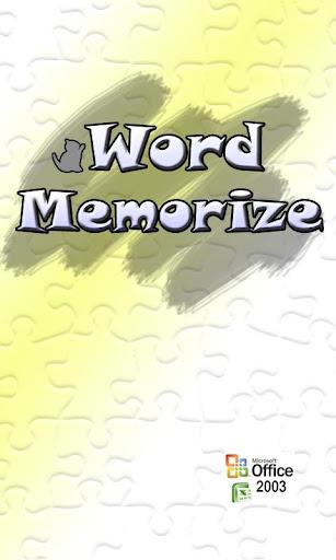 【免費教育App】word memorize(excel interlock)-APP點子