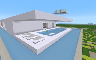 Screenshot of WP MINECRAFT Modern House