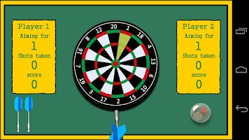 Screenshot of Shooting Darts