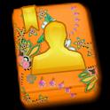 GO CONTACTS - Orange Pattern icon