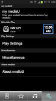 Screenshot of mediaU Radio Full