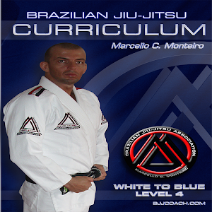 Cover art BJJ WHITE-BLUE LVL.4 JIU JITSU