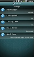 Screenshot of Auxify Call Blocker SMS Eraser