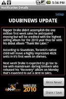 Screenshot of UrbanWorld News