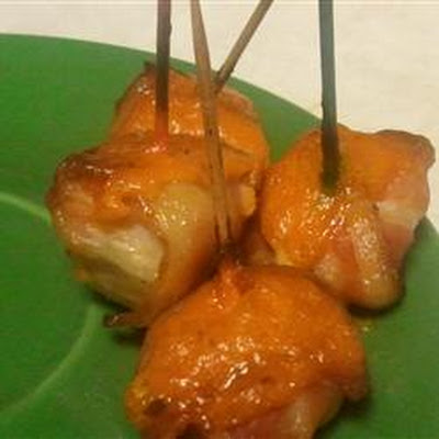 Bacon Wrapped Water Chestnuts IV
