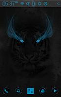 Screenshot of Wild Light Atom theme