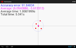 Screenshot of Touch Accuracy