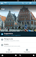 Screenshot of Latvia Travel Guide by Triposo