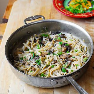 Mushroom Green Onion Pasta Recipes