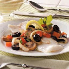 Baked Cod and Veggies