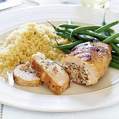 Almond-Stuffed Chicken