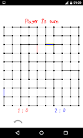 Screenshot of Dots and Boxes / Squares