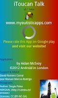 Screenshot of iToucan Talk (Autism) Alpha