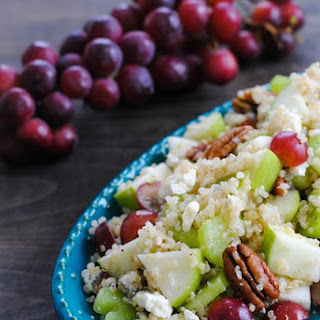 Fruit, Nut & Gorgonzola Quinoa Salad