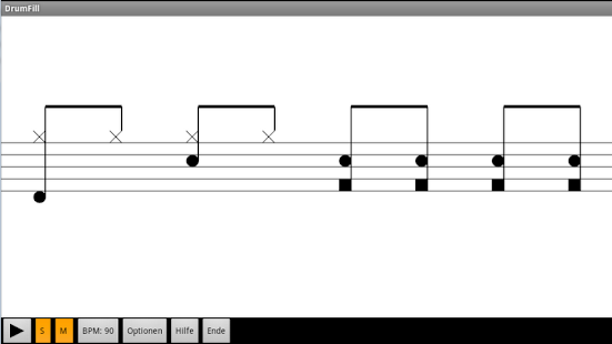 DrumFill (free) by RTF - screenshot