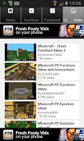 Screenshot of Furniture Designs Minecraft PE