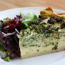Grilled Asparagus And Feta Quiche Recipe