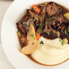 Braised Beef with Pears and Fresh Ginger
