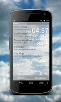 Screenshot of Weather Clock Live