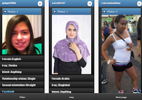 Screenshot of Iraq girls