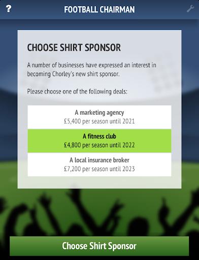 Football Chairman - screenshot