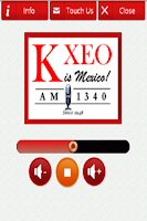 Screenshot of Today's Favorites, KXEO!