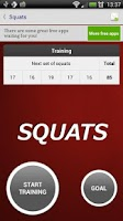 Screenshot of Squats - Fitness Trainer