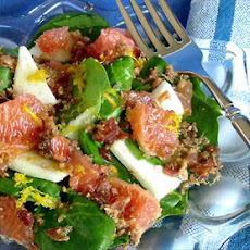Grapefruit Spinach Salad