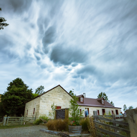 Oamaru clouds by Fadz Fazi - Landscapes Cloud Formations ( clouds, mammatusclouds, oamaru, sky, clouds formations )
