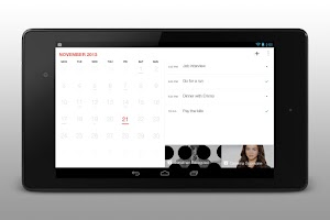 Screenshot of Cal - Calendar Google/Exchange