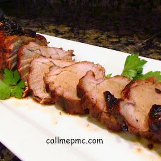 Molasses Glazed Pork Tenderloin Recipes